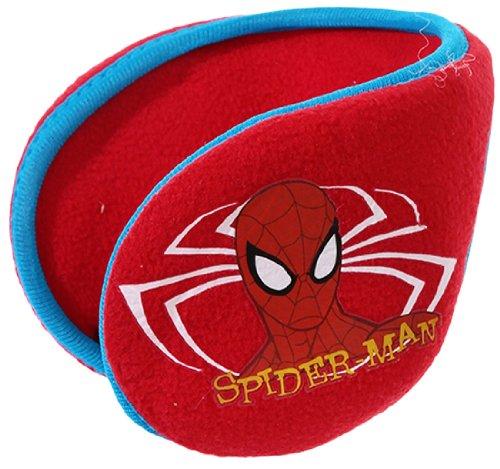 Cache-oreilles-Fleece-Boys-Spider-Man-RedBlue-Tu