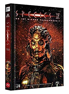 Species 2 (+ DVD) 2-Disc Limited Collectors Edition Mediabook (Cover C) - limitiert auf 333 Stk. [Blu-ray]