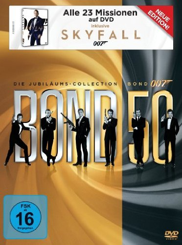 Die Jubiläums-Collection inkl. Skyfall (23 Discs)