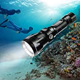 Best Dive Lights - BlueFire Diving Torch, 1200 Lumen XM-L2 LED Bright Review