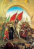 Eroberer beim Eingang von Istanbul