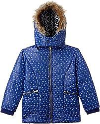 Fort Collins Girls Regular Fit Jacket (10225_Royal Blue_30 (10 - 11 years))