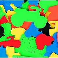CI L-FV8759 Foam Transport Shapes Sticker (60-Piece)