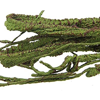 Emours Flexible Bend-A-Branch Jungle Vines Pet Habitat Decor for Lizard,Frogs, Snakes and More Reptiles,Small, 3.2ft Long by Pet accessories