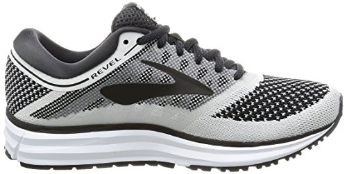 Brooks Damen Revel Laufschuhe White/Anthracite/Black