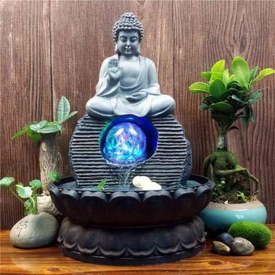 El Sudeste Asiático Estatuas De Buda Fuentes De Agua Sala De Estar Humidificador De Escritorio Feng Shui Adornos Afortunados Decoraciones para El Hogar