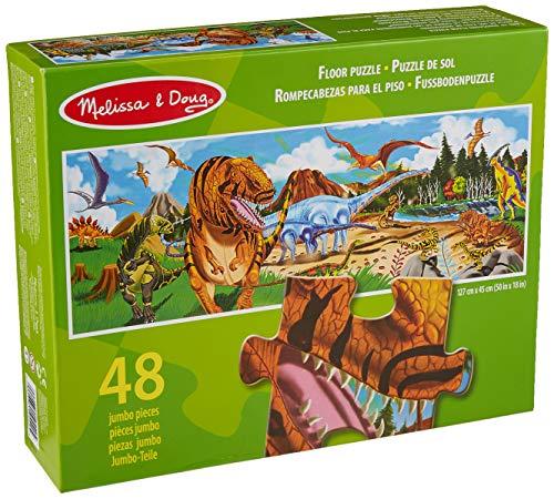 Bodenpuzzle Land der Dinosaurier, 48 Teile