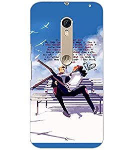 PrintDhaba Quote D-3035 Back Case Cover for MOTOROLA MOTO X STYLE (Multi-Coloured)