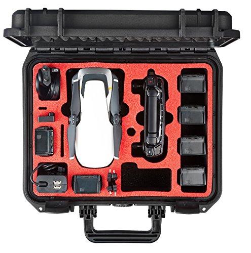 MC-CASES® Koffer für DJI Mavic Air mit Platz für bis zu 8 Akkus und vielem mehr