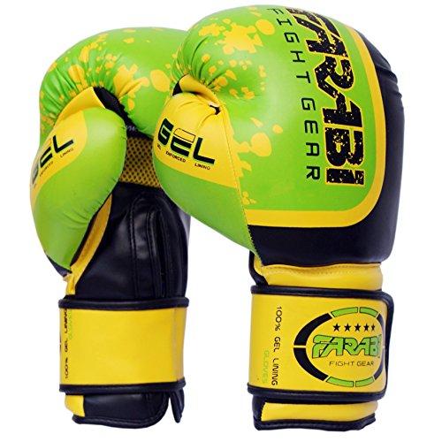 Farabi Fight Gear Pro Fighter Guantes Boxeo Gimnasio