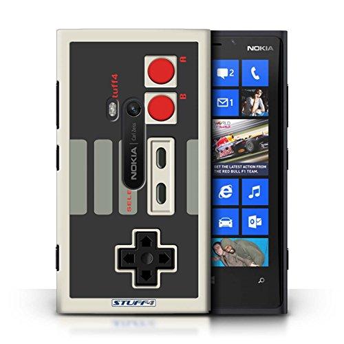 KOBALT® Hülle Case für Nokia Lumia 920 | Nintendo Game Boy Entwurf | Spielkonsolen Kollektion Klassisches Nintendo