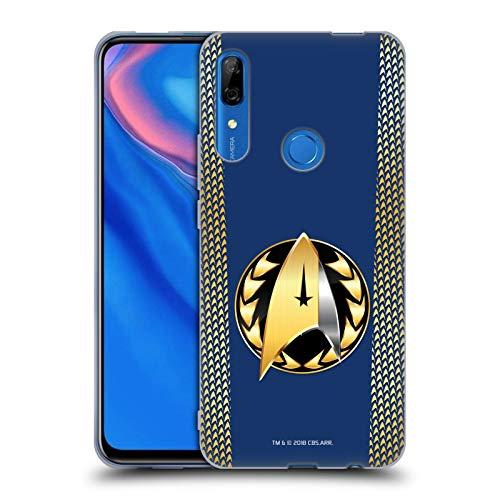 Head Case Designs Offizielle Star Trek Discovery Admiral-Ausweis Uniformen Soft Gel Huelle kompatibel mit Huawei P Smart Z / Y9 Prime (2019) (Uniform Star Trek 2019)