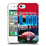 Officiel NFL Stade De Mercedes-Benz Atlanta 2 2019 Super Bowl LIII Étui Coque en Gel...