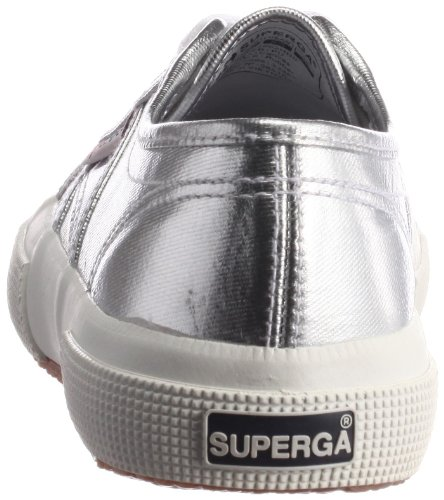 Superga 2750 Cotmetu, Baskets mode femmes Argent (031 Silver)