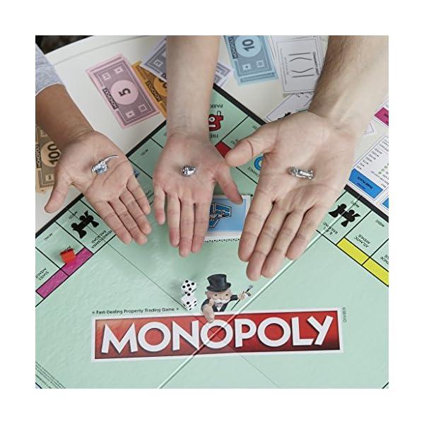 Monopoly - Classico (gioco in scatola Hasbro Gaming) 4 spesavip