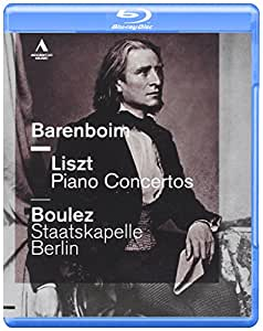 Concertos Pour Piano N° 1 & 2. Consolation N° 3 Valse Oublie N° 1 [Blu-ray]