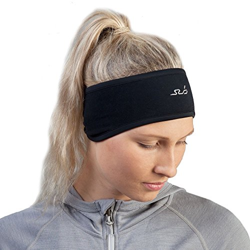 Sub Sports Cold Unisex Thermal Compression Headband Winter, One Size, Black