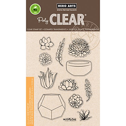 hero-arts-clear-stamps-4x6-stamp-your-own-succulents
