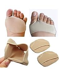 2pcs Deportes Fitness Bola de Metatarso Sore cojines almohadillas de pie