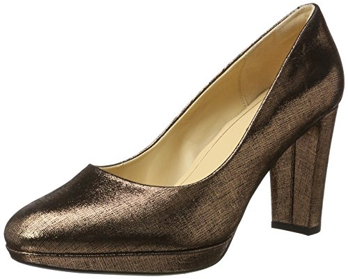 Clarks Kendra Sienna, Women's Closed-Toe Pumps, Beige (Copper), 3 UK (35.5 EU)