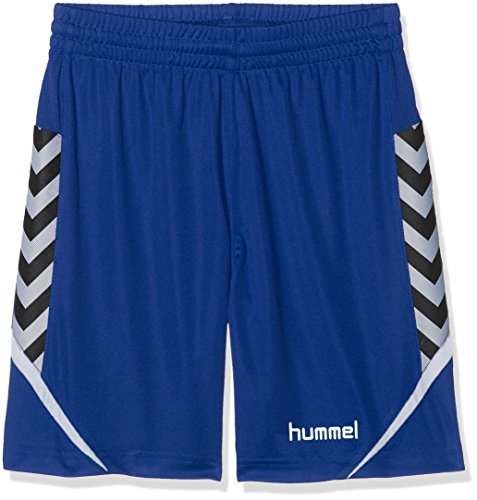 hummel Kinder AUTH. Charge Poly Shorts, True Blue, 140-152