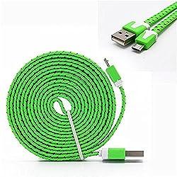 YANSHG® Micro USB Kabel geflochtenes Schnellladegerät Kabel USB zu Micro USB 2.0 Android Ladekabel für Samsung Galaxy S7 / S6 / S5 / Edge, Hinweis 5/4/3, LG, Nexus, HTC, Nokia, PS4