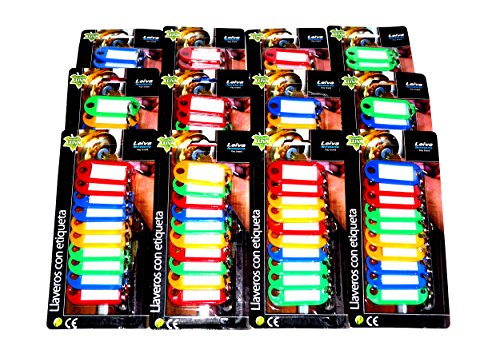 120 Schlüsselanhänger Schlüsselschilder Schlüsseletiketten