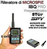 RILEVATORE DI MICROSPIE SPIE PROFESSIONALE DI MICROSPIE DIGITALE SPIA AMBIENTALE, SPY SPIE CIMICI