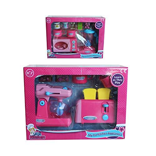A to Z 37602 - Juego de Utensilios de Cocina, Color Rosa