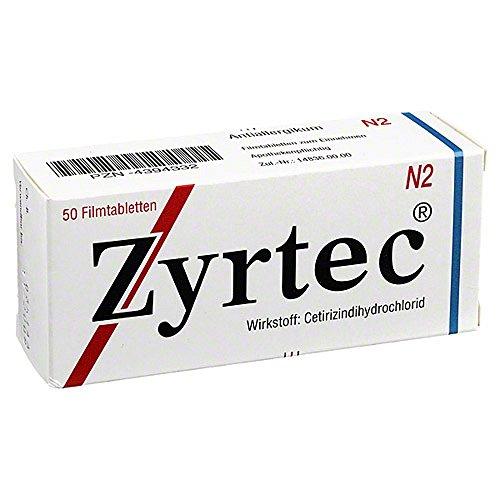 Zyrtec Tabletten, 50 St.