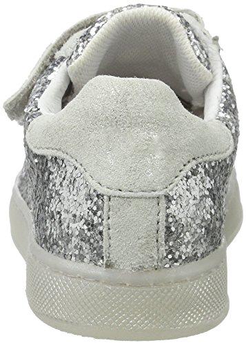 Naturino - Naturino 4425 Vl, Pantofole Bambina Argento (argento)