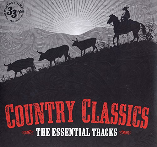 Country Classics - The Essential Tracks 2 x 180g-Vinyl LPs -