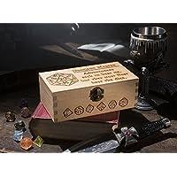 Large Dungeon Master Dice Box, rpg dice box, pathfinder dice, d&d dice, gaming box, rpg dice box, gamer gift, dice box gift, geek gift, wooden box gift