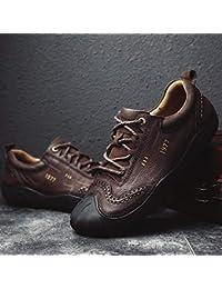 387abd84ebe LOVDRAM Chaussures Décontractées pour Hommes Chaussures Décontractées pour  Hommes Jeep Automne Et Hiver Première Couche pour