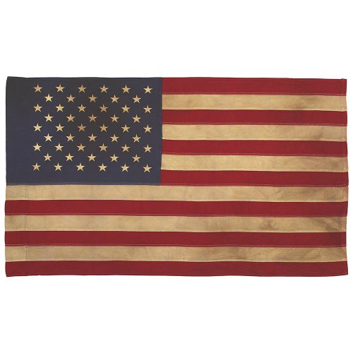 Valley Forge Flagge Heritage Series 2,5Fuß x 4Antik Baumwolle COLONIAL 50-star US American Flag Flagge 0 0