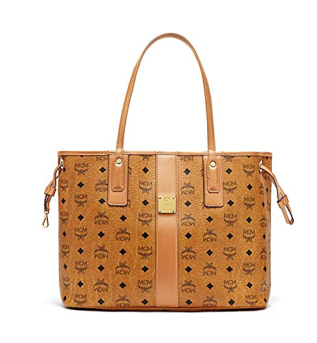 MCM Damen Reversible Shopper Project Medium Cognac (Shopper Reversible)