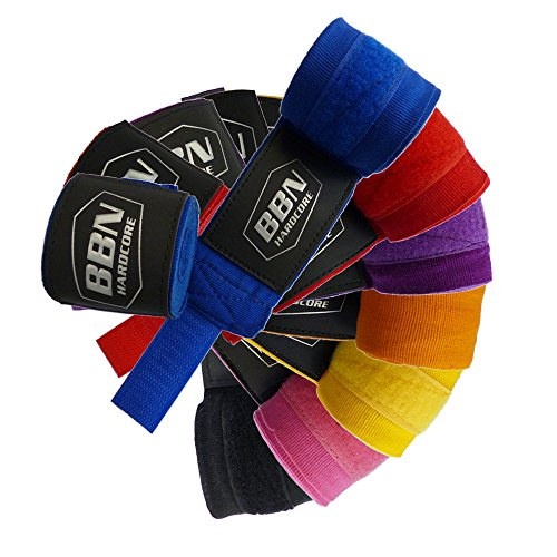 One Size Black Best Body Nutrition High Grade Boxing Bandages