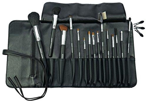 Fantasia - Professional - Set pinceaux 14 pièces et 3 applicateurs de rechange - Avec trousse - Dimensions : 43 x 24,5 cm