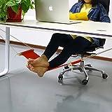 Accmart verstellbar Mini Fuß, Rest Ständer Schreibtisch Fuß Hängematte orange