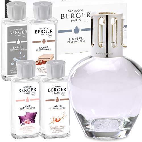 Lampe Berger Starterset XXL Ronde inkl. Duftpaket mit 4x Parfum de Maison / Geschenkset Limited Edition