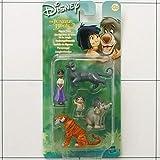 Disney - Il Libro della Giungla 2 - Set personaggi - Shianti, Baghira, Shir Khan, Junior, Ranjan