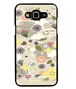 Fuson Premium Seeds And Flowers Metal Printed with Hard Plastic Back Case Cover for Samsung Galaxy Grand Max G7200