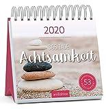 Postkartenkalender 365 Tage Achtsamkeit 2020 - Wochenkalender mit abtrennbaren Postkarten: Inspirierender Aufstellkalender für mehr Ruhe, Gelassenheit und Achtsamkeit -