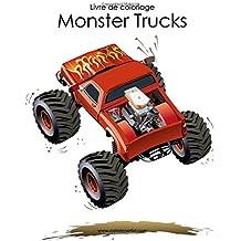 Livre de coloriage Monster Trucks 1