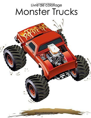 Livre de coloriage Monster Trucks 1