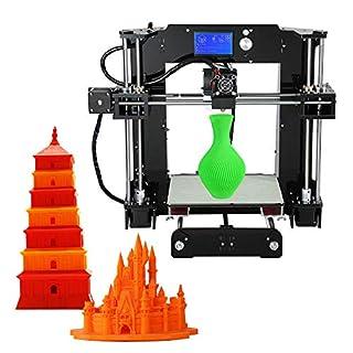 3D Drucker Acrylic Anet A6 Schreibtisch3d Drucker Kit Selbstbauen 3D Drucker, DIY 3D Printer Kit 220 * 220 * 250Mm Druckraum