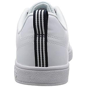 adidas Advantage Clean Vs, Zapatillas para Hombre, Blanco (Ftwbla / Ftwbla / Maruni), 43 1/3 EU