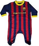 Barça Baby Strampler, offizielle Kollektion des FC Barcelona 3 Monate blau