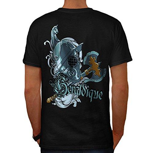Grafik Ritter Mode Mittelalterlich Spiel Herren M T-shirt Zurück | Wellcoda