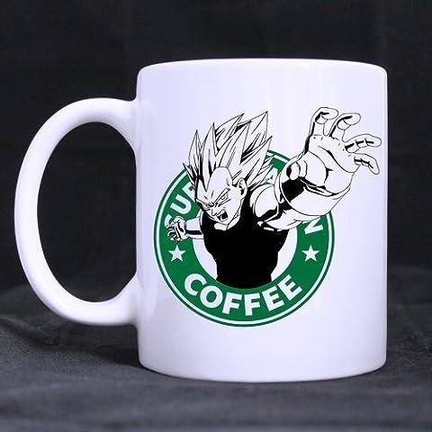 Vegeta dragon ball z starbuck coffee Mug by Mug 3D